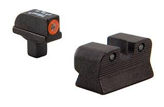 Trijicon HD Night Sight Set Orange Front Outline for Colt Officers/Compact A1 600812