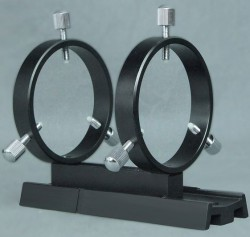Stellarvue R50V 50-60mm Finder Rings on Vixen Style Dovetail