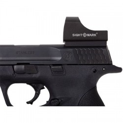 Sightmark SM19033 Mini Shot Pistol Mount For Glock, Black