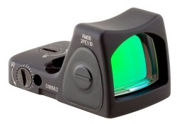Trijicon RMR Type 2 Adjustable LED 3.25 MOA Red Dot Sight, Black, 3.25MOA, 700672