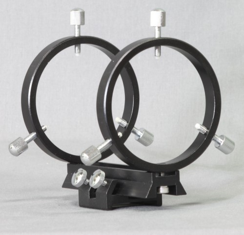 Stellarvue 50 - 60 MM FINDER RINGS - MOUNTS TO SV CLAMSHELLS, FLAT OR CURVED SURFACE - R050AT