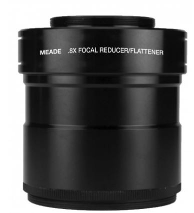 Meade Series 6000 Field Flattener / 0.8x Reducer for 115MM / 130MM APO Refractors
