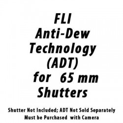 FLI - ADDITION OF ANTI-DEW TECHNOLOGY ON 65MM SHUTTERS