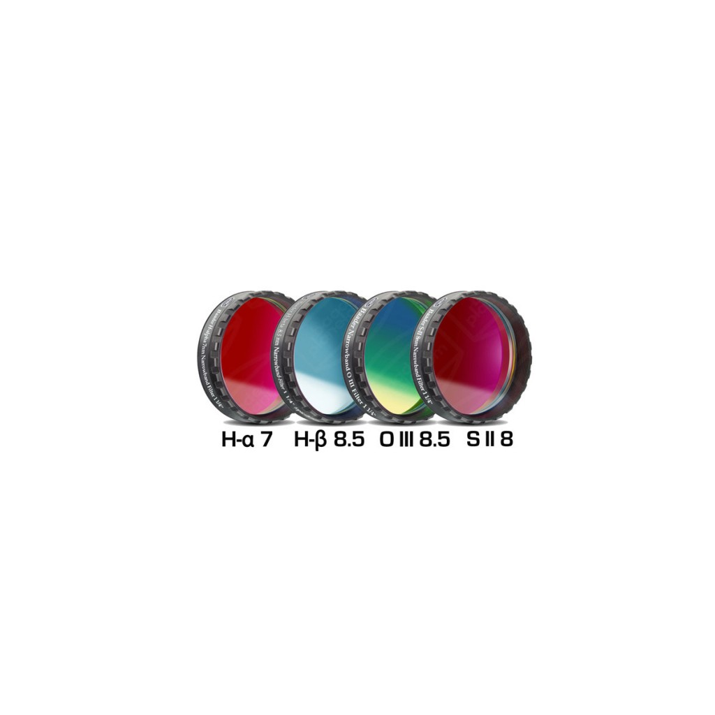 SBIG 1.25″ NB Set of 4 filters