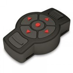 ATN X-TRAC Tactical Bluetooth Remote Access Control, Black and Red, ACMURCNTRL1
