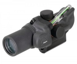 Trijicon 1.5x16S Compact ACOG Riflescope,Dual Illuminated Green Ring,2 MOA Center Dot Reticle w/M16 Carry Handle Base and Mounting Screw 400140