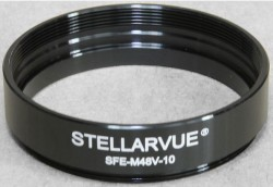 Stellarvue 48mm Extension Tube - 10mm Length