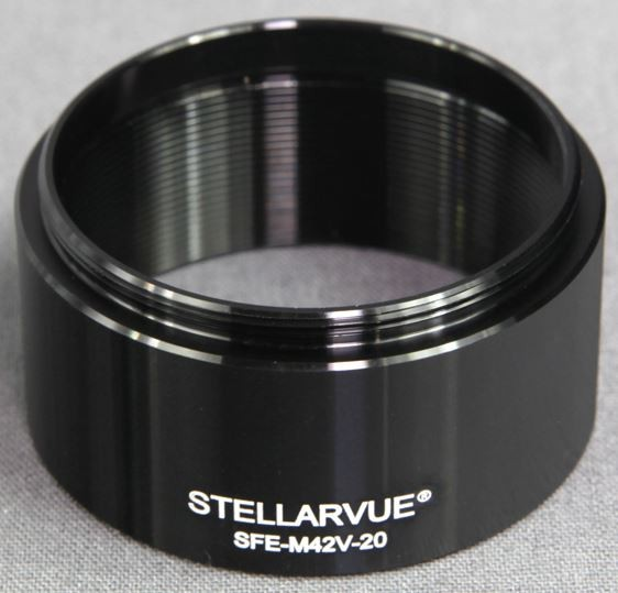 Stellarvue 42mm Extension Tube - 20mm Length