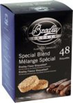 Bradley Smoker BRADLEY SMOKER SPECIAL BLEND FLAVOR BISQUETTES 48 PACK