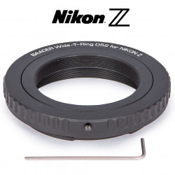WIDE T-RING NIKON Z (FOR Z BAYONET) WITH D52I TO T-2 AND S52