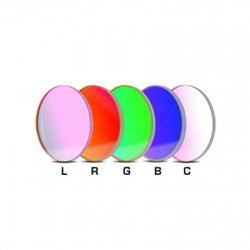 SBIG Baader 50mm Round LRGBC Filter Set