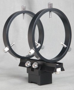 Stellarvue 80 MM FINDER RINGS - MOUNTS TO HINGED RINGS - R080ET
