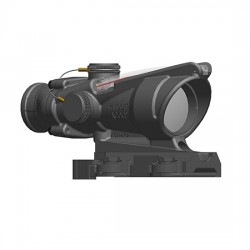 Trijicon 4x32 ACOG Scope, Dual Illuminated Red Horseshoe/Dot M855 RCO Reticle w/ LaRue Tactical LT799 Mount, Red, 100582