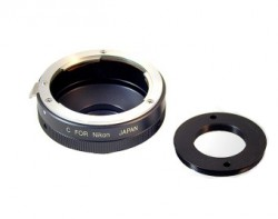 SBIG Camera Lens Adapter Canon (without filter wheel)