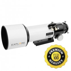 Explore Scientific 80MM Classic White FCD100 ED APO Refractor