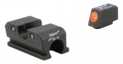 Trijicon Heavy Duty Night Sights Orange Front Outline Walther 99/PPQ/PPQ M2 600738