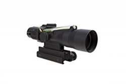 Trijicon ACOG 3x30mm Compact Riflescope,Dual Illuminated Green Horseshoe/Dot 5.56x45mm Ballistic Reticle w/Colt Knob Thumbscrew Mount 400129