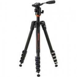 Vanguard  Aluminum tripod with pan head, 5 section, 23 mm legs